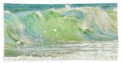 Beach Towel featuring the photograph Refreshing Blues by Kelly Nowak
