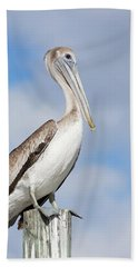 Regal Bird Beach Towel