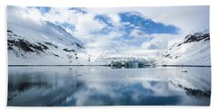 Reid Glacier Glacier Bay National Park Beach Towel