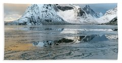 Reine, Lofoten 5 Beach Towel