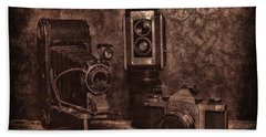 Beach Towel featuring the photograph Relics by Mark Fuller