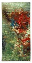 Remembering J. T.  Acrylic Original #5 Beach Towel