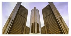 Renaissance Center Beach Towel