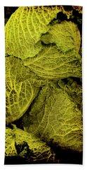 Renaissance Chinese Cabbage Beach Sheet