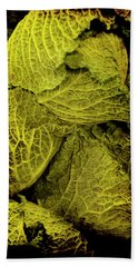 Renaissance Chinese Cabbage Beach Towel