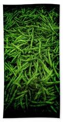 Renaissance Green Beans Beach Sheet