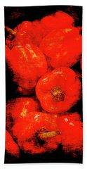 Renaissance Red Peppers Beach Sheet
