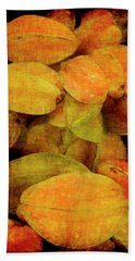 Renaissance Star Fruit Beach Towel