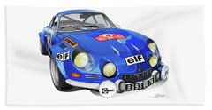 Alpine Renault A110 Beach Sheet