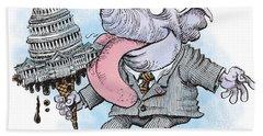 Republicans Lick Congress Beach Towel