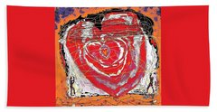 Rescuers Of The Broken Heart Beach Towel