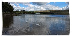 Reservoir In Littleborough - Greater Manchester - England Beach Towel