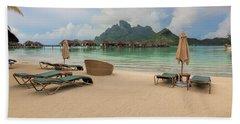 Beach Towel featuring the photograph Resort Life by Sharon Jones