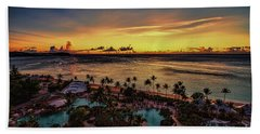 Resort Sunset Beach Towel
