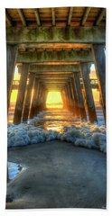 Resplendence Tybee Pier Tybee Island Georgia Art Beach Towel