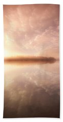 Beach Towel featuring the photograph Rest In His Peace by Rose-Maries Pictures