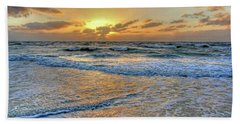Restless Beach Sheet by HH Photography of Florida