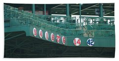Retired Numbers Beach Towel