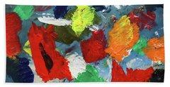 The Artists Palette Beach Towel