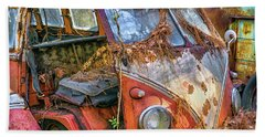 Retired Vw Bus Beach Sheet