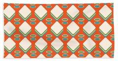 Retro 1950's Pattern Beach Towel