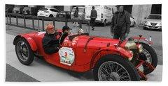 Retro Auto Fiat Balilla Beach Sheet