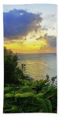 Beach Towel featuring the photograph Return by Chad Dutson