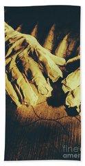 Return Of The Ancient Egyptian Pharaoh Beach Towel