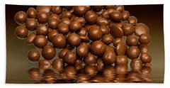Beach Towel featuring the photograph Revels Chocolate Sweets by David French