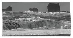 Reynisfjara Beach Vik Iceland 6845 Beach Towel