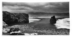 Reynisfjara Beach Sheet by Wade Courtney