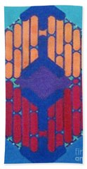 Beach Towel featuring the drawing Rfb1015 by Robert F Battles