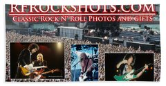 Rfrockshots Classic Rock N Beach Towel