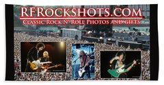 Rfrockshots Classic Rock N Beach Towel