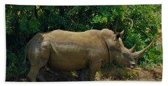 Rhino 1 Beach Towel