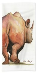 Rhino Beach Towels