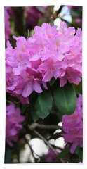 Rhododendron Beauty Beach Towel