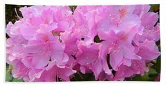 Rhododendron Beauty1 Beach Towel