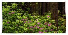Rhododendrons Beach Sheet