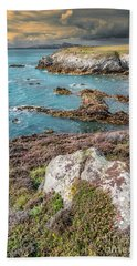 Rhoscolyn Head Beach Towel