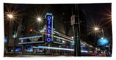 Rialto Theater Beach Towel