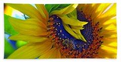 Rich In Pollen Beach Sheet