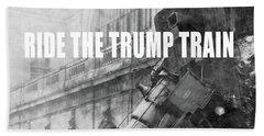 Trump Photographs Beach Towels