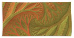 Ridges And Valleys Beach Towel by Lyle Hatch