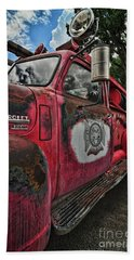 Ridgway Fire Truck Beach Towel