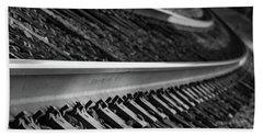 Riding The Rail Beach Sheet
