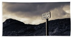 Right Of Way To Laggan Beach Towel