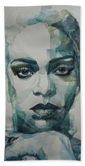 Rihanna - Art Beach Towel