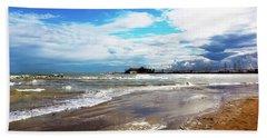 Rimini After The Storm Beach Sheet