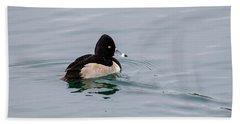 Ring Necked Duck 2 Beach Towel